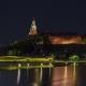Kraków, widok na Wawel