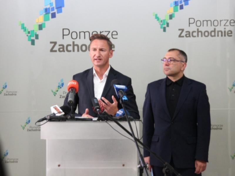 Olgierd Geblewicz i Przemysław Włosek