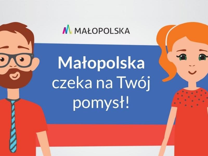Małopolski Budżet Obywatelski grafika
