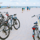 rowery na plaży