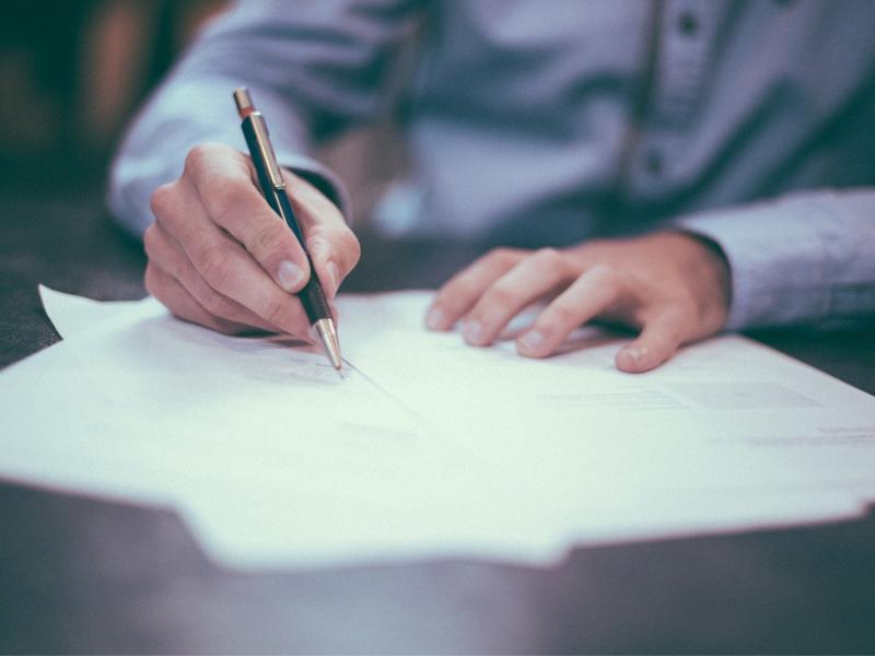 podpisywanie dokumentu