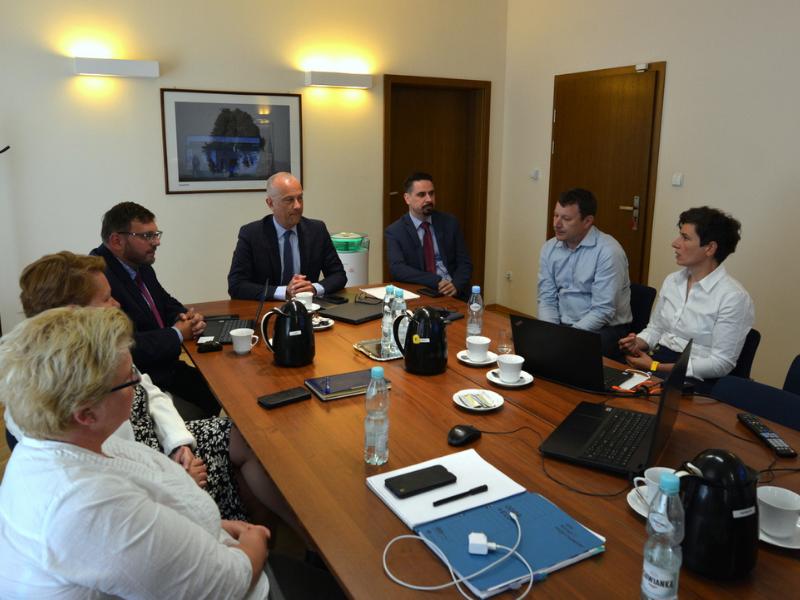 spotkanie w sprawie projektu Odra Velo